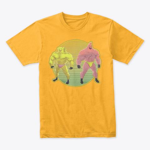 Not Rick Gold T-Shirt Front