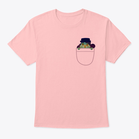 Lil' Habby : )  Pale Pink T-Shirt Front