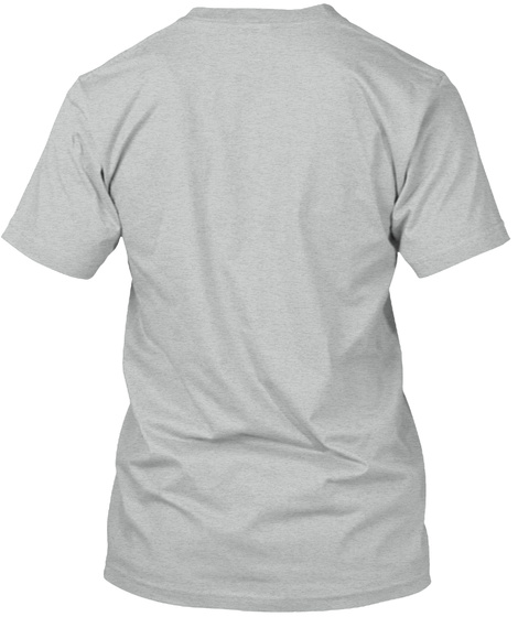 Open Vx   Light Athletic Grey T-Shirt Back