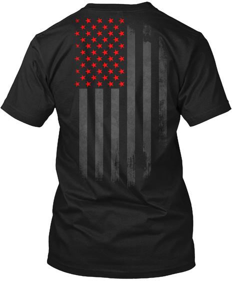 R.E.D. Onyx Black Camiseta Back
