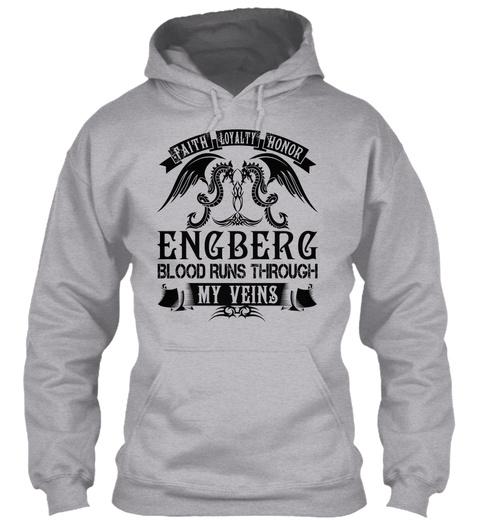 Engberg   My Veins Name Shirts Sport Grey T-Shirt Front