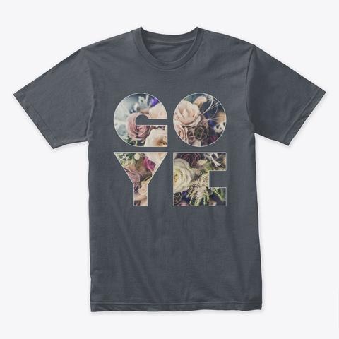 "Minimalist ""Go Ye"" Heavy Metal T-Shirt Front"