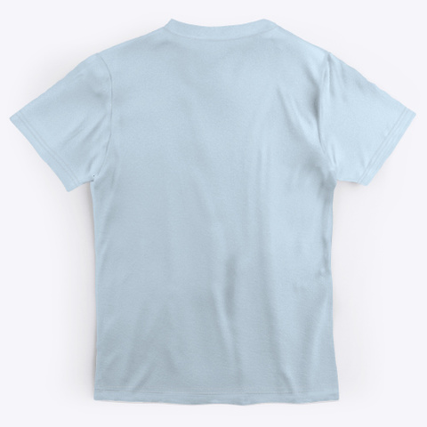 My Boo Pale Blue T-Shirt Back