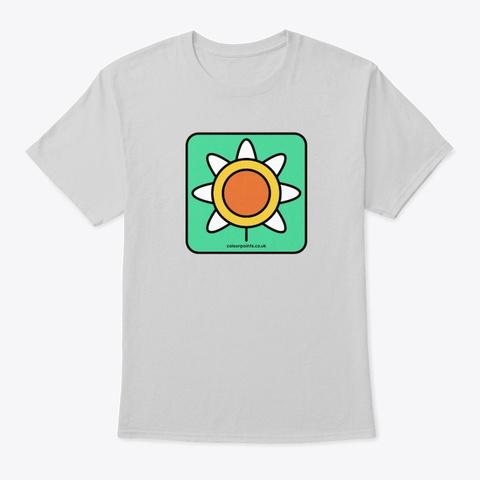 Farnham T Shirt By Colour Points Light Steel T-Shirt Front