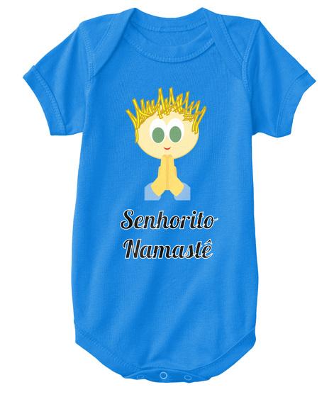 Senhorito Namastê Royal T-Shirt Front