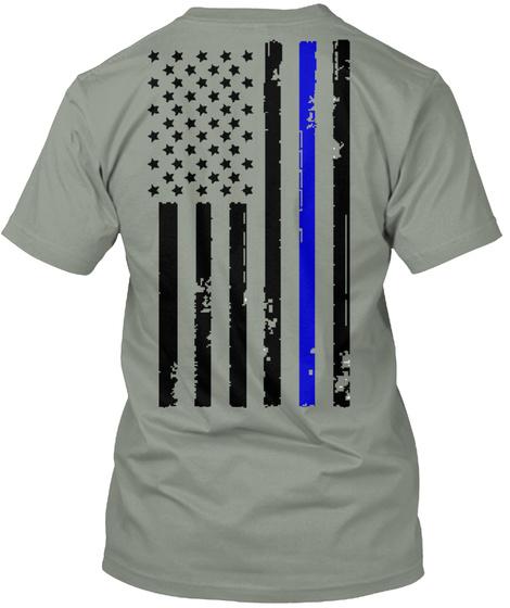 d01c88744 Jeep Thin Blue Line Grey T-Shirt Back. Joop Grey T-Shirt Front