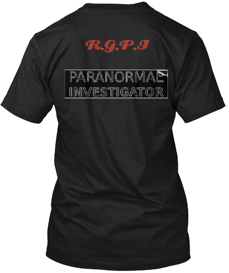 R.G.P.I Black T-Shirt Back