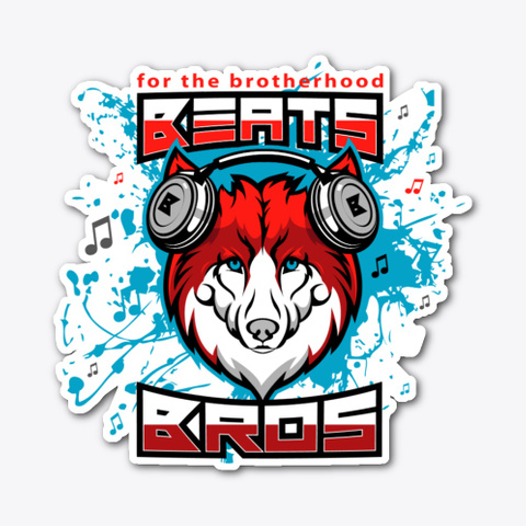 Beatsbros Red Wolf Standard T-Shirt Front