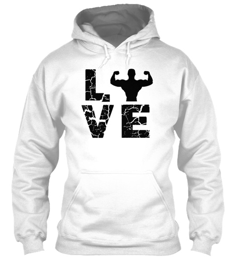 Personal Trainer Love T Shirt White T-Shirt Front