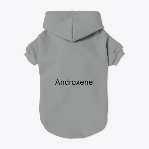 Androxene Male Enhancement Review Grey T-Shirt Back
