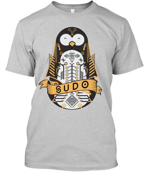 Sudo Light Steel T-Shirt Front
