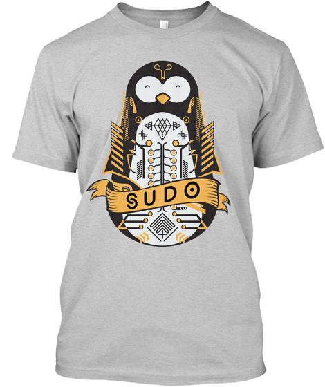 Sudo Light Steel T-Shirt Front