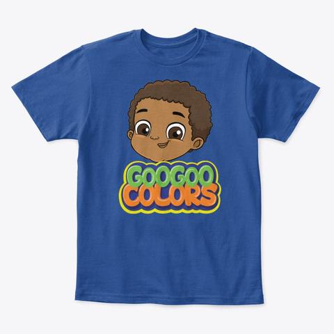 Goo Goo Gaga Kid Tee Deep Royal  T-Shirt Front