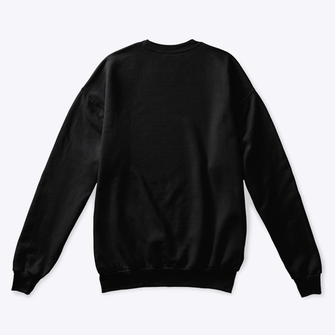 Black Magic Crewneck Sweatshirt Black Sweatshirt Back