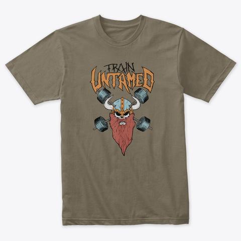 Untamed Viking Venetian Gray T-Shirt Front