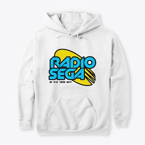 Radio Sega (2019)   White White T-Shirt Front