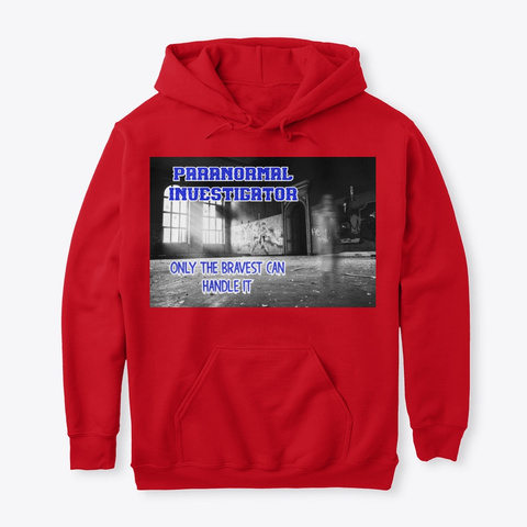Paranormal Investigator Red T-Shirt Front