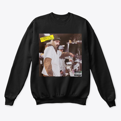 Bean's Rice And Lamb Black T-Shirt Front