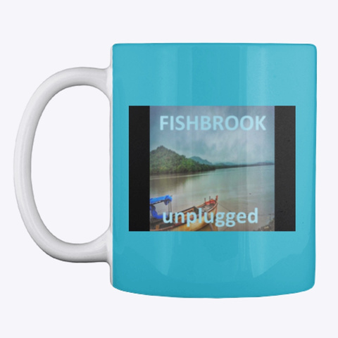 Fishbrook Turquoise T-Shirt Front