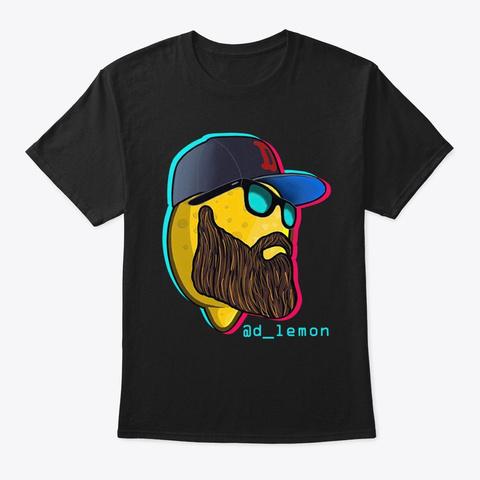 Lemon Head Black T-Shirt Front
