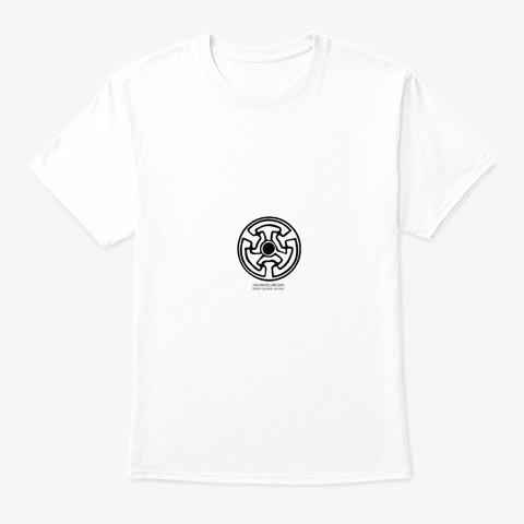 Dardanian Labyrinth   Kosovo White T-Shirt Front