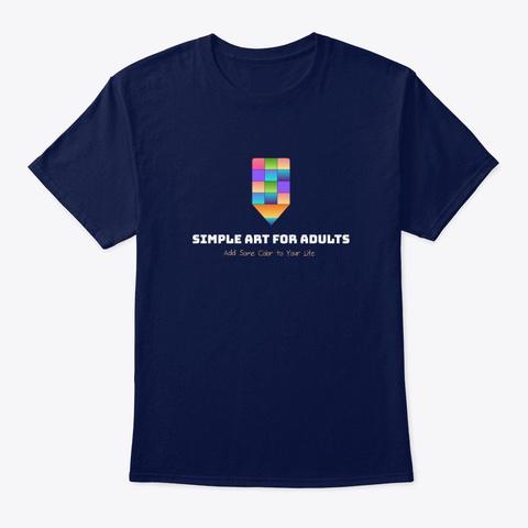 Safa T Shirt Navy T-Shirt Front