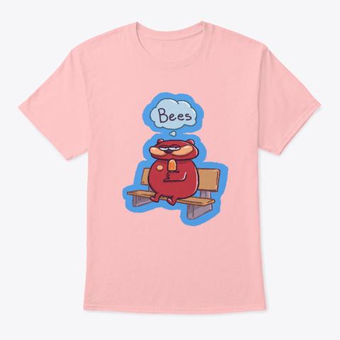 Bearfelf Is Classy Shirt Pale Pink T-Shirt Front