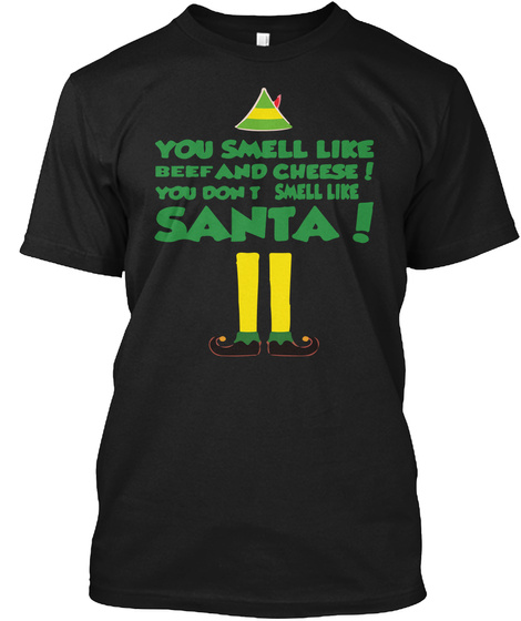 ELF QUOTES UGLY CHRISTMAS SWEATER