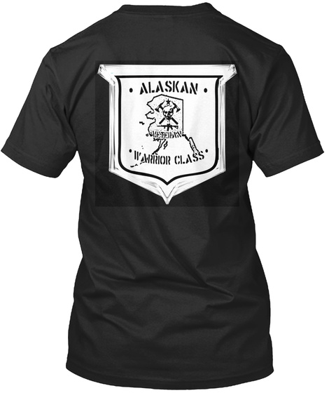 Professional Warfighter Black T-Shirt Back