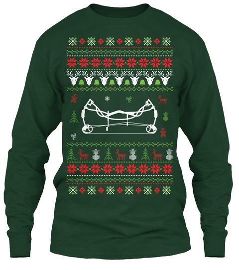 Christmas Arrow.Bow And Arrow Ugly Christmas Sweater