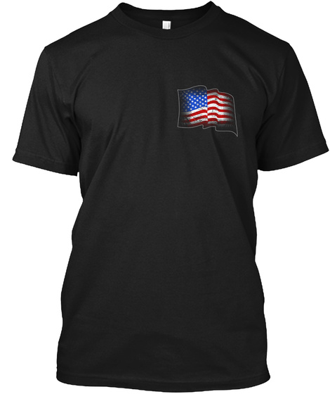Deplorable Madafaka   Tn Chapter Black T-Shirt Front
