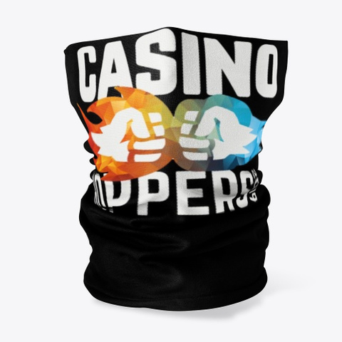 Casino Hopper Black T-Shirt Front