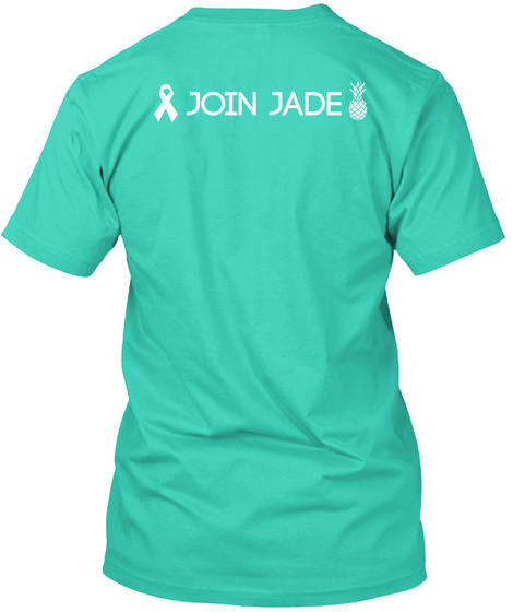 Join Jade Mint T-Shirt Back