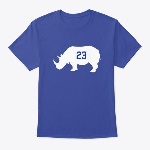 Limited Edition T Shirt Deep Royal T-Shirt Front