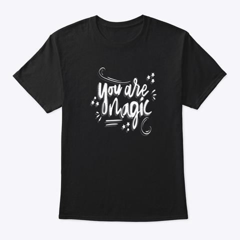 T Shirt: Magic Black T-Shirt Front