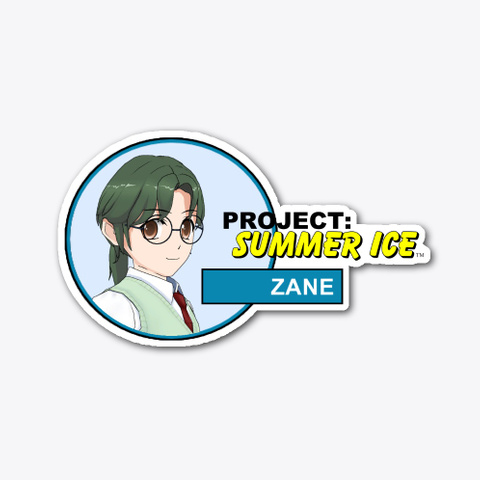 Project: Summer Ice Zane Sticker (A) Standard T-Shirt Front