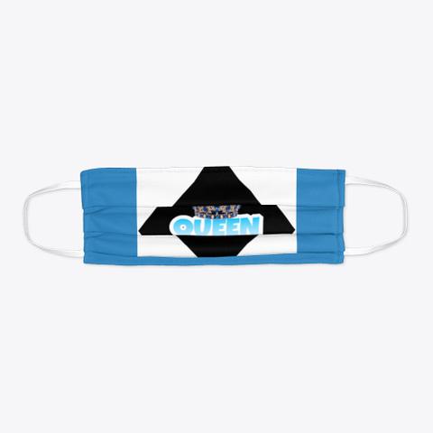 Queen Mask 2 Denim Blue Kaos Flat