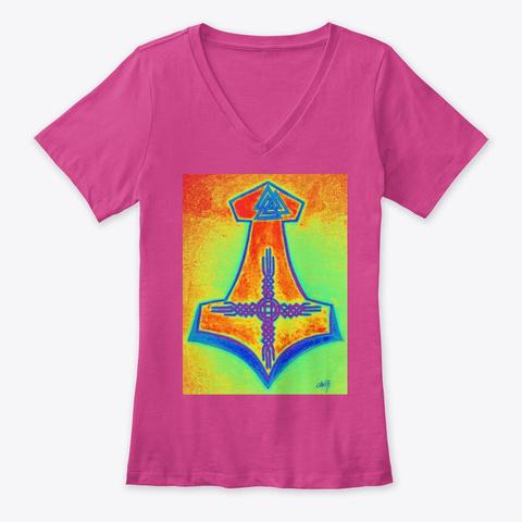 Desert Raven Kindred  Drk Bifrost Berry T-Shirt Front