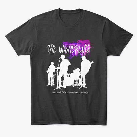 The Incoherents T Shirt Black T-Shirt Front