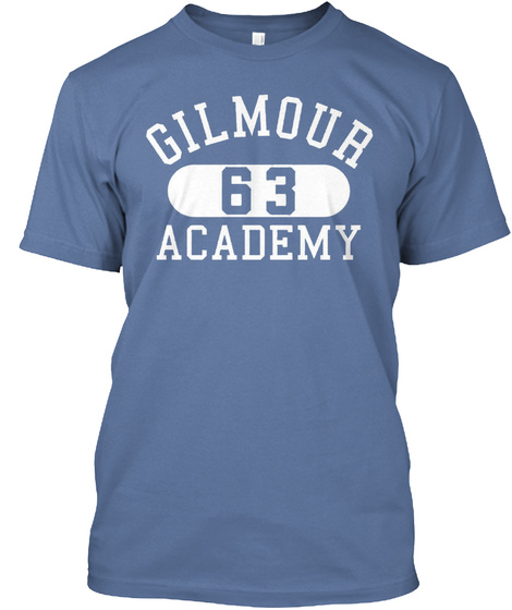 Gilmour 63 Academy Denim Blue T-Shirt Front