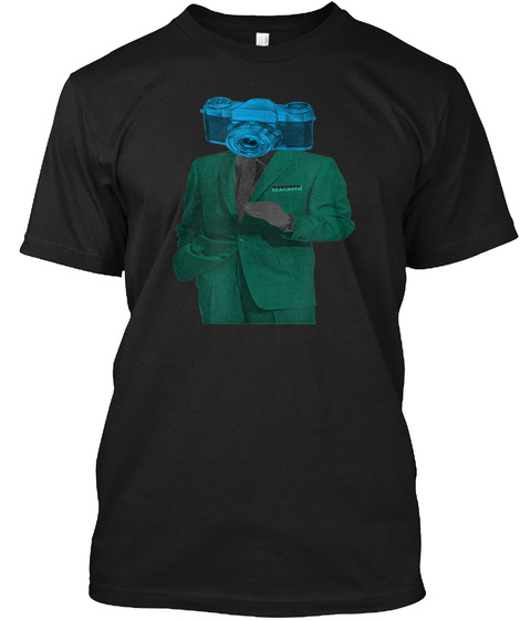 Psychedelic Surreal T Shirt Black T-Shirt Front
