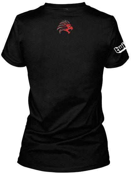 Str8 Sick Black T-Shirt Back