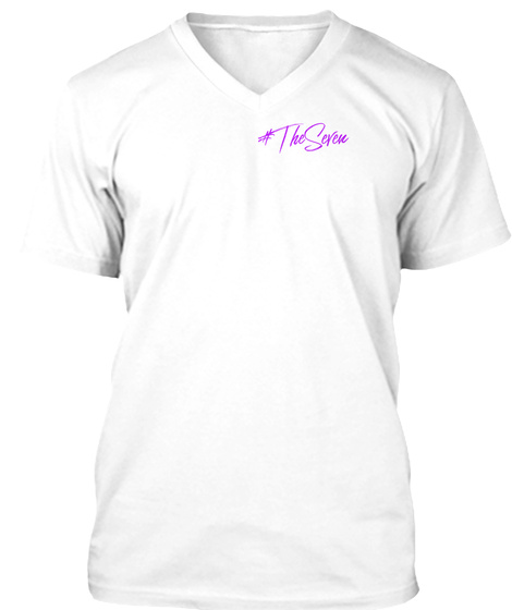 #Theseven White T-Shirt Front