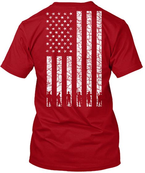Red Friday: Red Shirts ! Deep Red T-Shirt Back