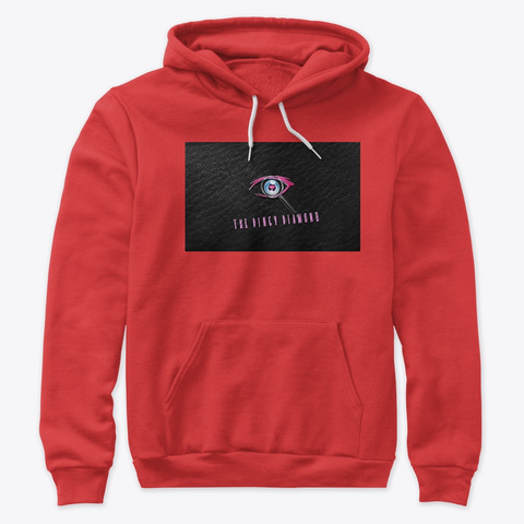 "Diamond  ""Hood""  Red  Pull Ova Red Sweatshirt Front"