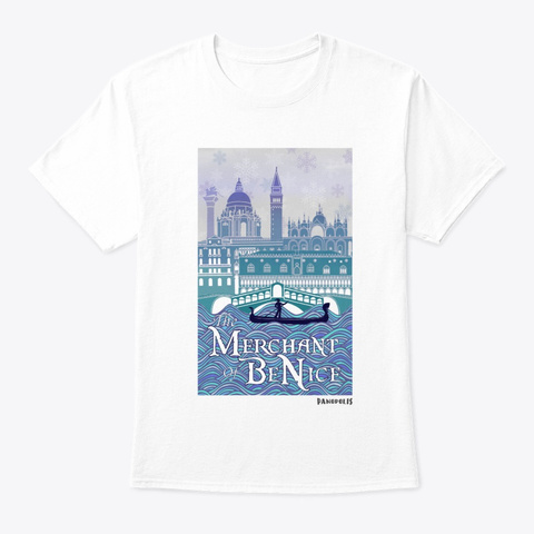 Merchant Of Be Nice White T-Shirt Front