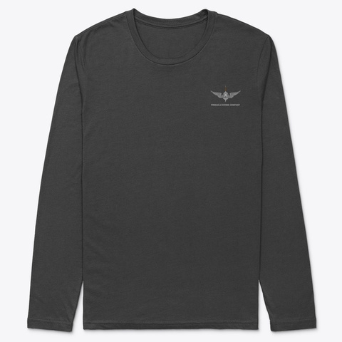 Pdc Long Sleeve Rescue Shirt 1 Black T-Shirt Front