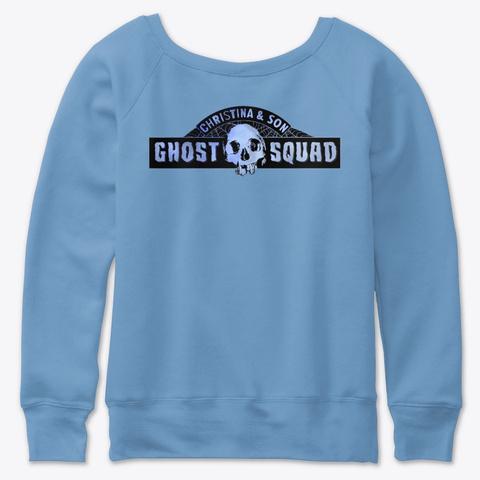 Squad Famz Merch 2 Blue Triblend  T-Shirt Back