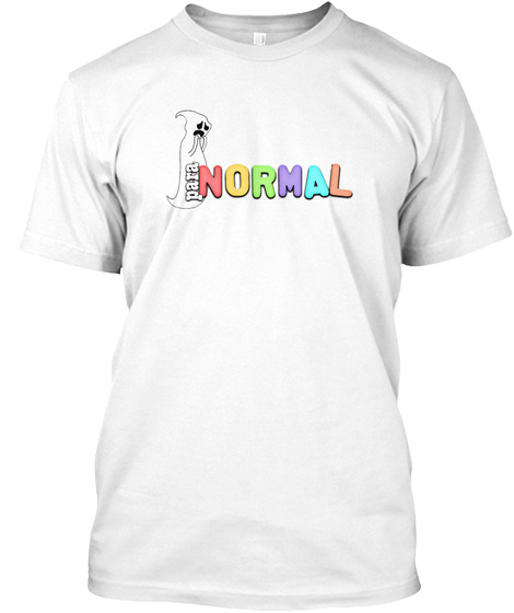 Para Normal White T-Shirt Front