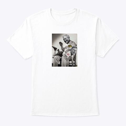 Kirk Ferentz For The Win White T-Shirt Front